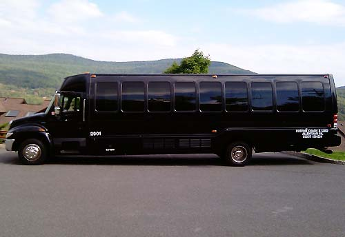 mini bus rental new york city