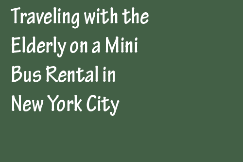 Mini Bus Rental in New York City